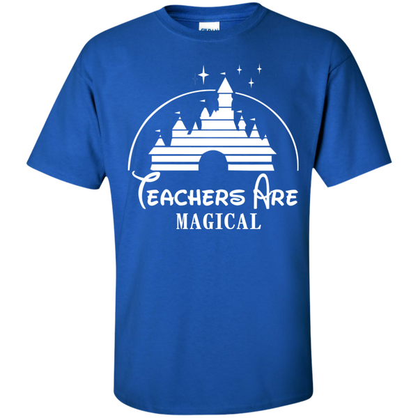 Teachers are Magical Cotton T-Shirt - TeachersLoungeShop - 9