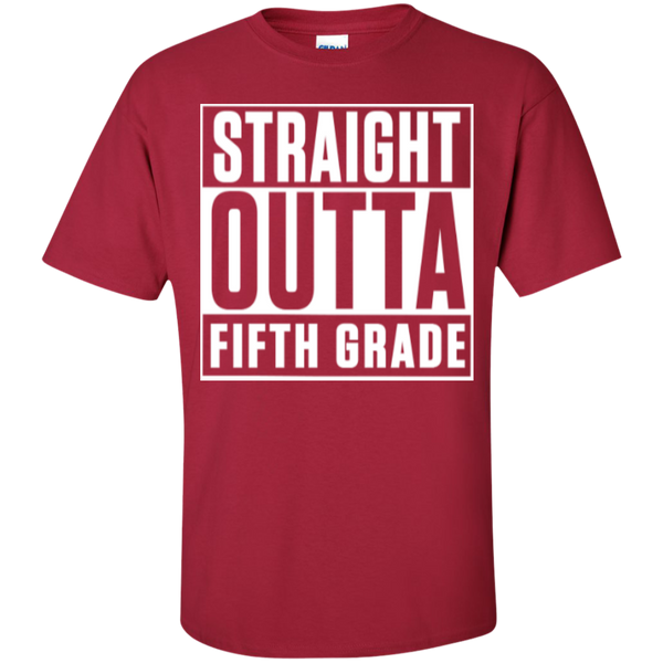 Straight Outta Fifth  Grade   T-Shirt - TeachersLoungeShop - 4