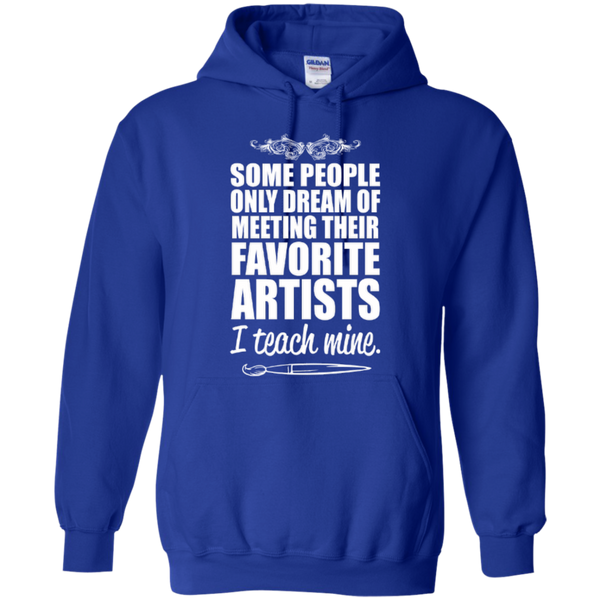 Favourite Artists i Teach Mine Hoodie - TeachersLoungeShop - 8