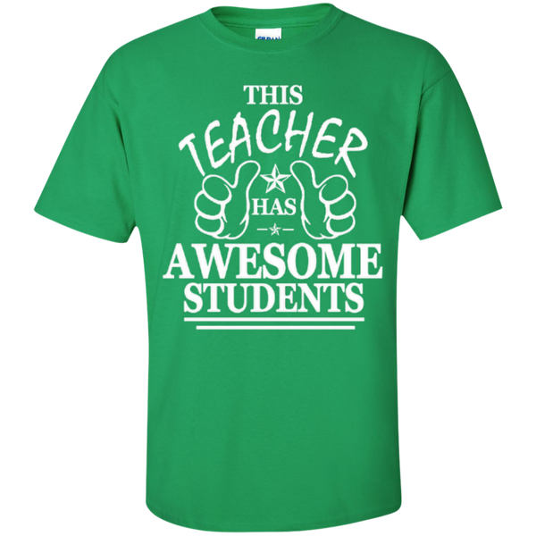 This Teacher has Awesome Students T-shirt Hoodie - TeachersLoungeShop - 4