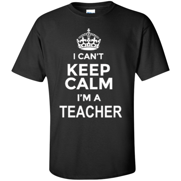 I can't Keep Calm i'm a Teacher T-shirt Hoodie - TeachersLoungeShop - 2