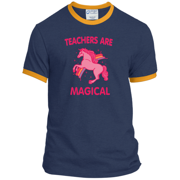 Teachers are Magical Ringer Tee - TeachersLoungeShop - 8