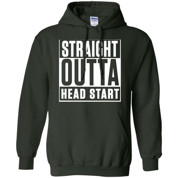 Straight Outta Head Start   Hoodie 8 oz - TeachersLoungeShop - 6