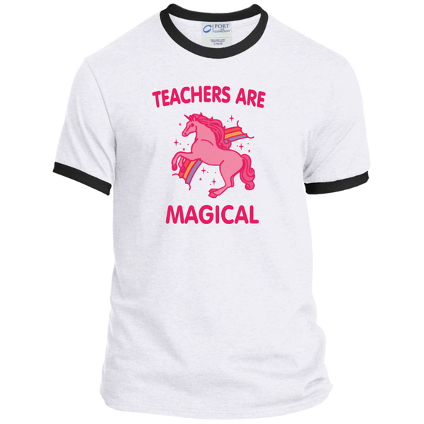 Teachers are Magical Ringer Tee - TeachersLoungeShop - 2