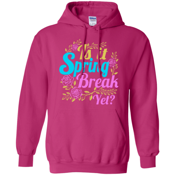 Is it Spring Break Yet Teacher T-shirt Hoodie - TeachersLoungeShop - 8