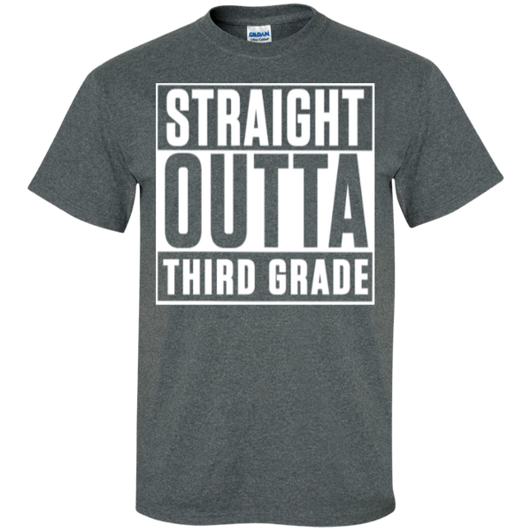 Straight Outta Third Grade   T-Shirt - TeachersLoungeShop - 3