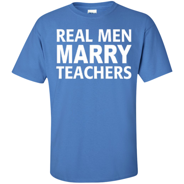 Real Men Marry Teachers T-shirt Hoodie - TeachersLoungeShop - 6