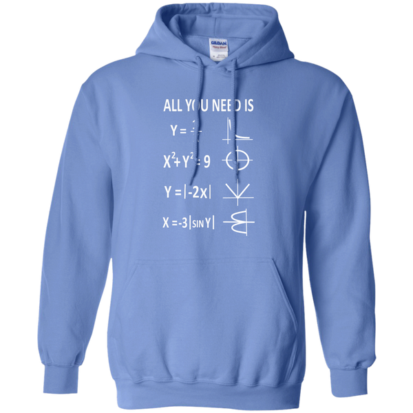 All You Need is Love Pullover Hoodie 8 oz - TeachersLoungeShop - 4