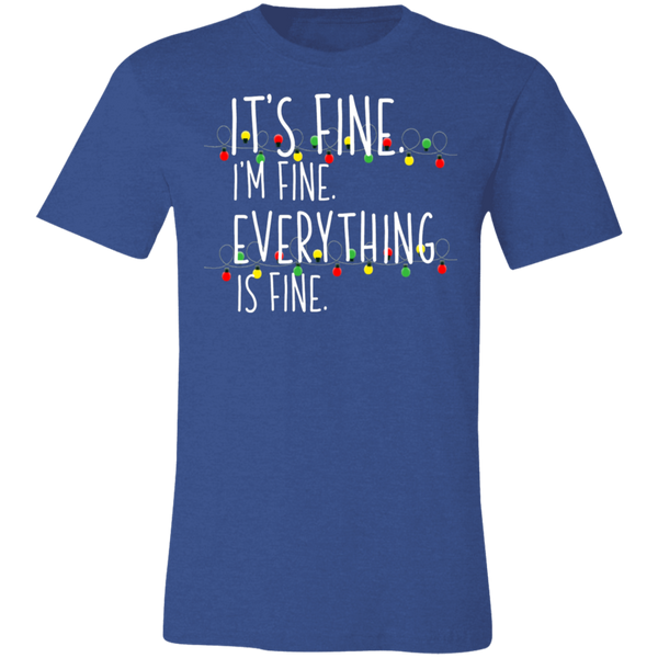 It's fine   christmas  T-Shirt