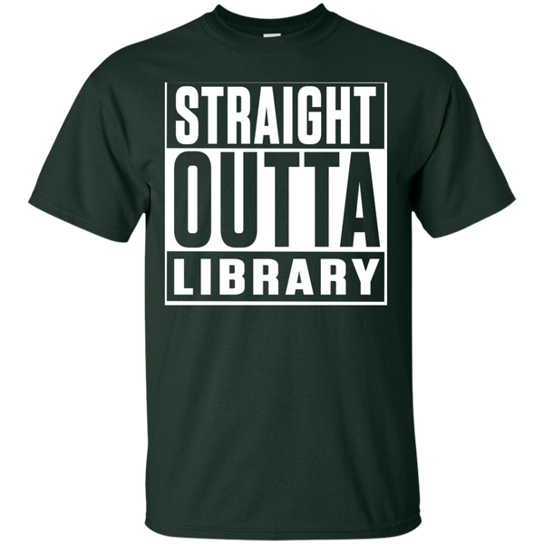 Straight Outta Library T-Shirt - TeachersLoungeShop - 5