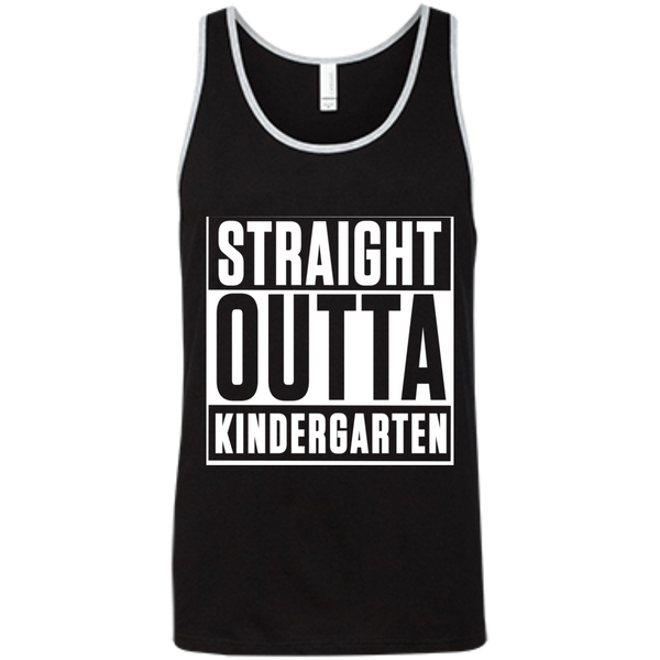 Straight Outta Kindergarten  Bella +Canvas Unisex Tank - TeachersLoungeShop - 8