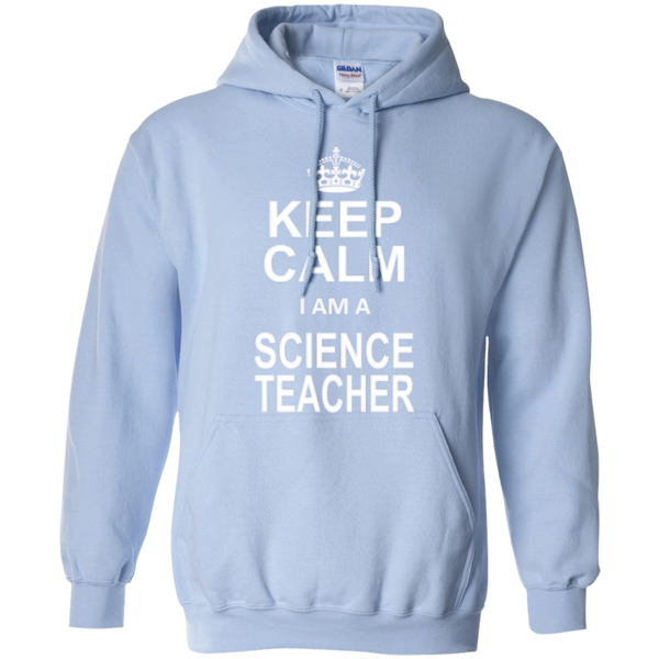 Keep Calm i'm a Science Teacher T-shirt Hoodie - TeachersLoungeShop - 9