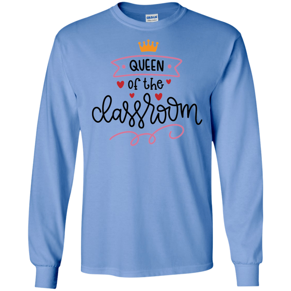 Queen of the classroom LS Tshirt