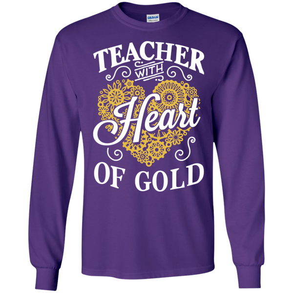 Teacher with Heart of Gold  Ultra Cotton Tshirt - TeachersLoungeShop - 7