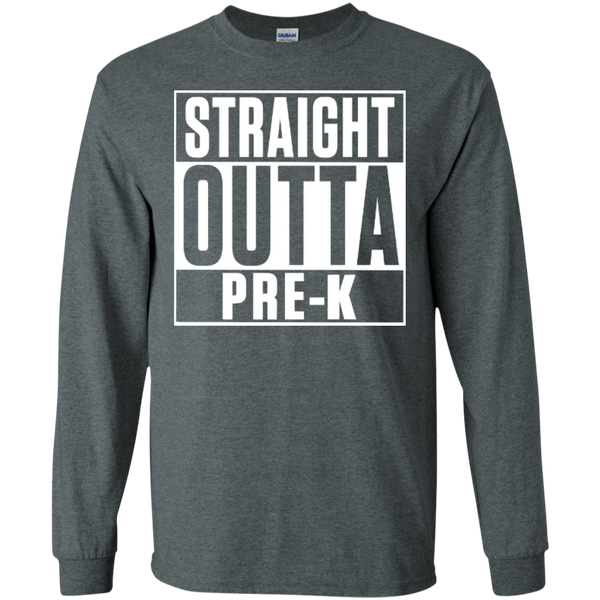 Straight Outta Pre-K    Ultra Cotton Tshirt - TeachersLoungeShop - 12