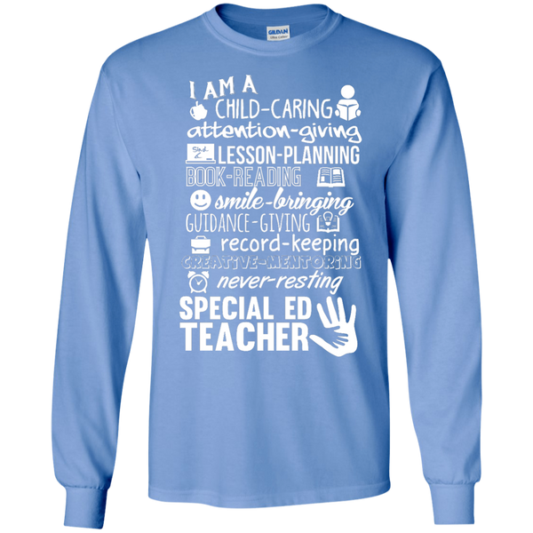 I am Special Ed teacher poems  LS Ultra Cotton T-Shirt