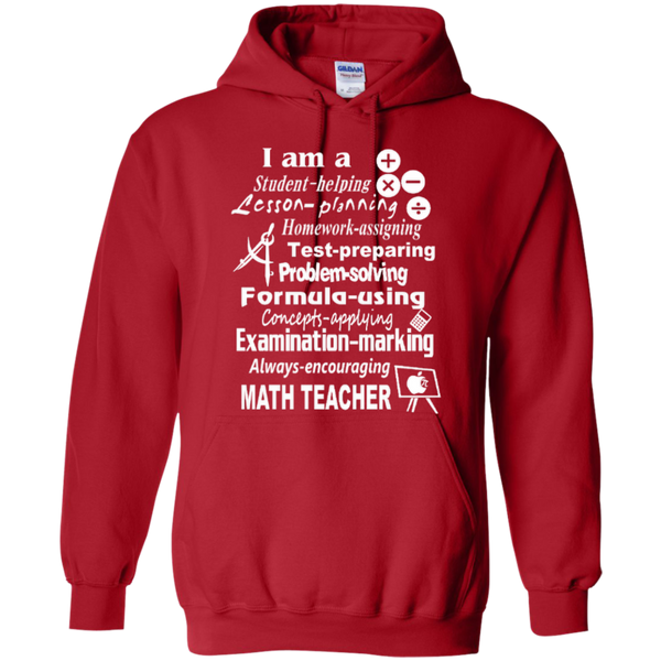 I am a Math Teacher Limited Edition T-shirt Hoodie - TeachersLoungeShop - 10