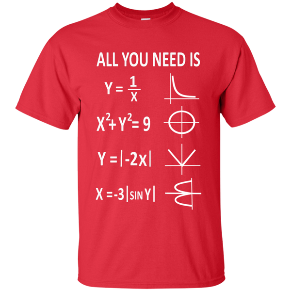 All You Need is Love Cotton T-Shirt - TeachersLoungeShop - 8
