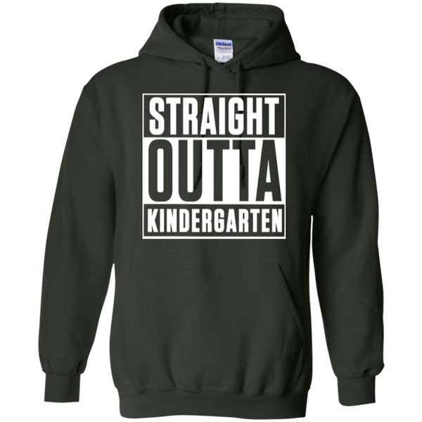 Straight Outta Kindergarten Hoodie 8 oz - TeachersLoungeShop - 6