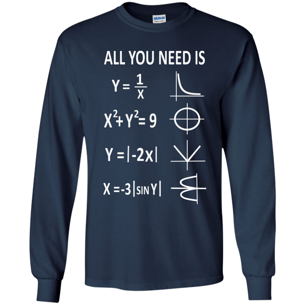 All You Need is Love LS Ultra Cotton Tshirt - TeachersLoungeShop - 10