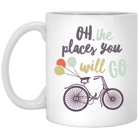 Oh The places you will go  . Mug