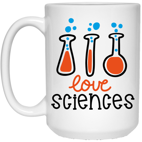 Love Sciences  15 oz. White Mug
