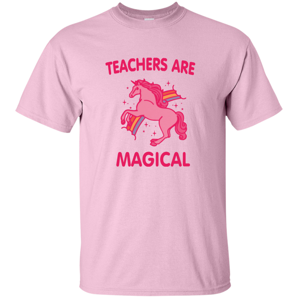 Teachers are Magical Cotton T-Shirt - TeachersLoungeShop - 6
