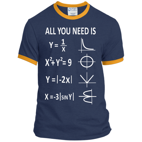 All You Need is Love Ringer Tee - TeachersLoungeShop - 1