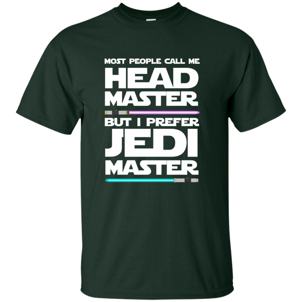 Most People Call Me Head Master But I Prefer Jedi Master Cotton T-Shirt - TeachersLoungeShop - 2