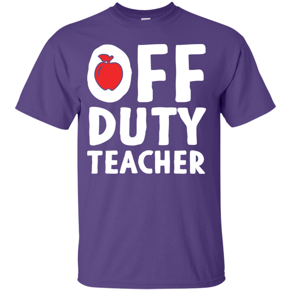 Off Duty Teacher T-Shirt - TeachersLoungeShop - 6
