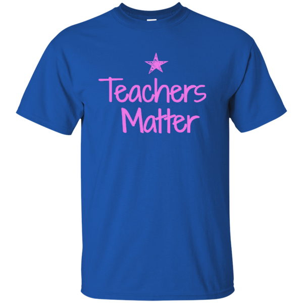 Teachers Matter Cotton T-Shirt - TeachersLoungeShop - 8