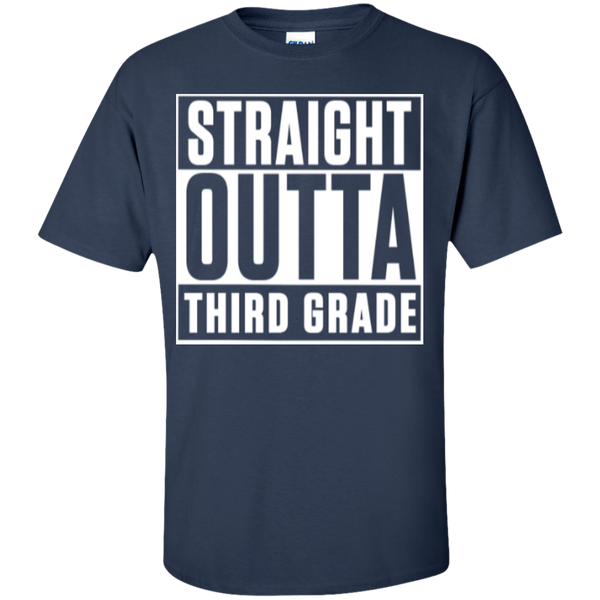 Straight Outta Third Grade   T-Shirt - TeachersLoungeShop - 7