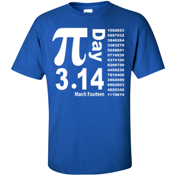 Teacher Math Pi Day March Fourteen 3.14 T-Shirt - TeachersLoungeShop - 3