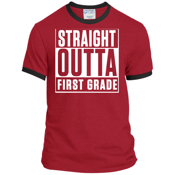 Personalized Ringer Tee - TeachersLoungeShop - 8