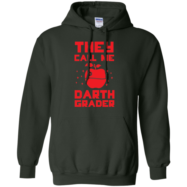 They call me Darth Grade  Hoodie 8 oz - TeachersLoungeShop - 5