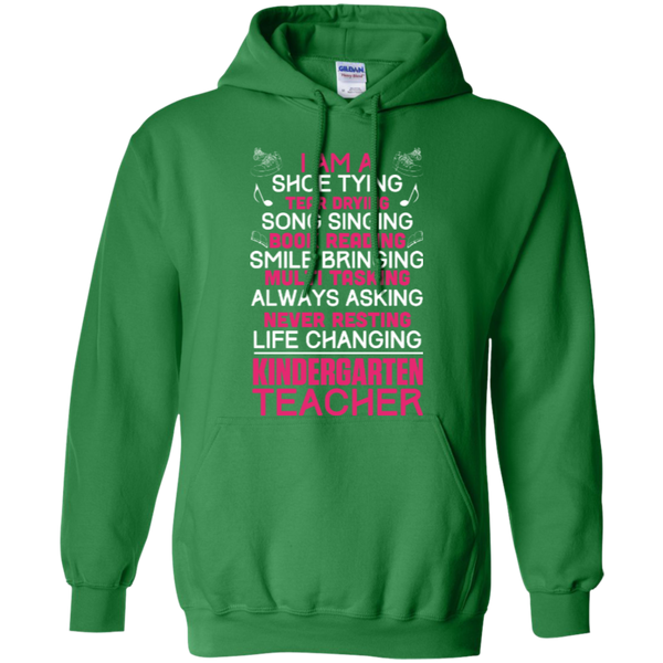 I'm a Kindergarten Teacher   Hoodie - TeachersLoungeShop - 6