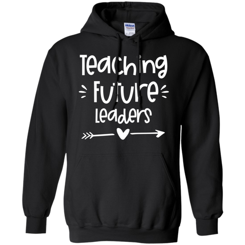 Teaching future leaders Pullover Hoodie 8 oz.