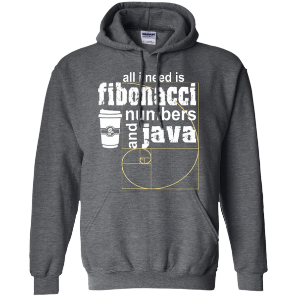 All i need is fibonacci numbers and java  Hoodies - TeachersLoungeShop - 3