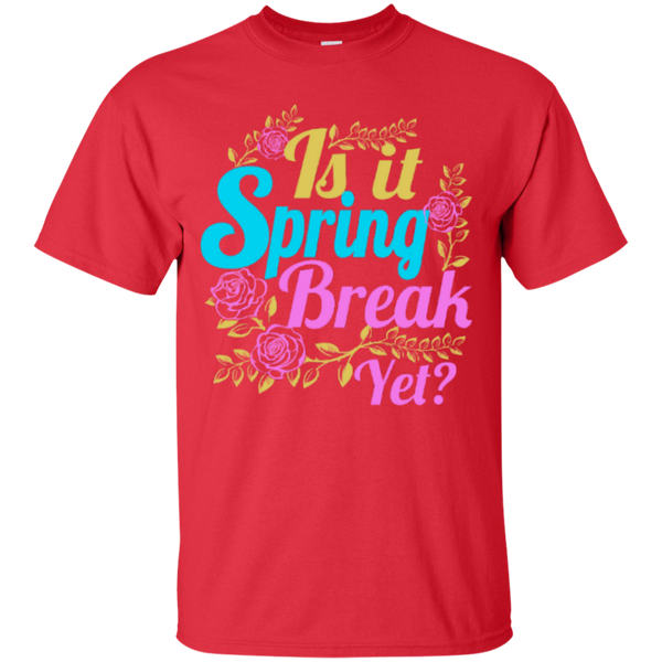 Is it Spring Break Yet Teacher T-shirt Hoodie - TeachersLoungeShop - 2