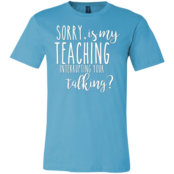 Sorry , is my teaching interrupting your talking  T-Shirt