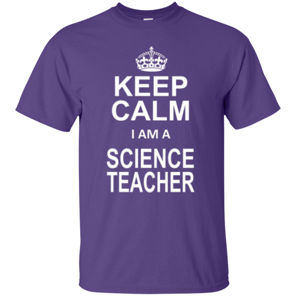Keep Calm i'm a Science Teacher T-shirt Hoodie - TeachersLoungeShop - 3