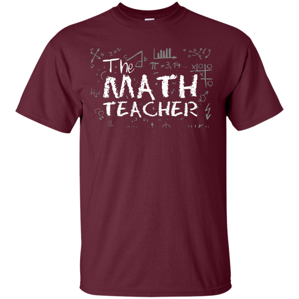 The Math Teacher  T-Shirt - TeachersLoungeShop - 7