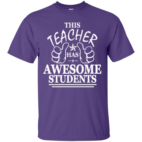This Teacher has Awesome Students T-shirt Hoodie - TeachersLoungeShop - 3