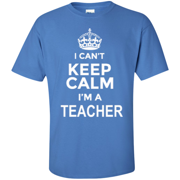 I can't Keep Calm i'm a Teacher T-shirt Hoodie - TeachersLoungeShop - 6