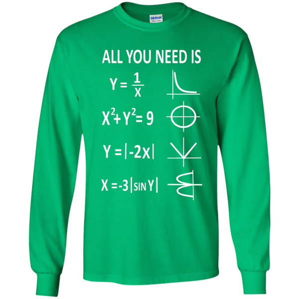 All You Need is Love LS Ultra Cotton Tshirt - TeachersLoungeShop - 4