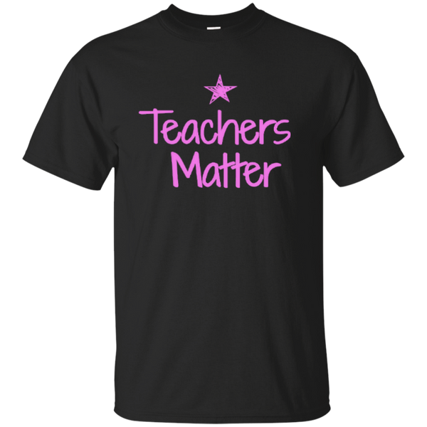 Teachers Matter Cotton T-Shirt - TeachersLoungeShop - 1