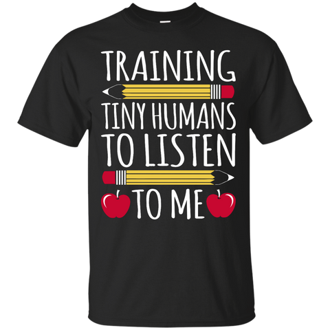 Training Tiny Humans to Listen to Me  T-Shirt