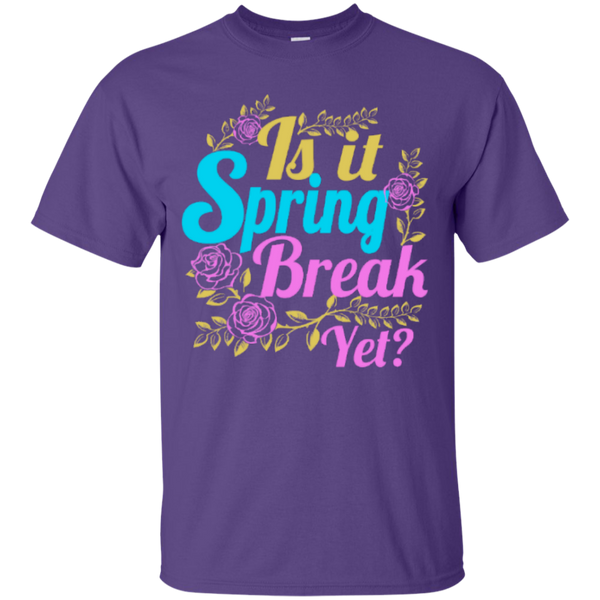 Is it Spring Break Yet Teacher T-shirt Hoodie - TeachersLoungeShop - 4