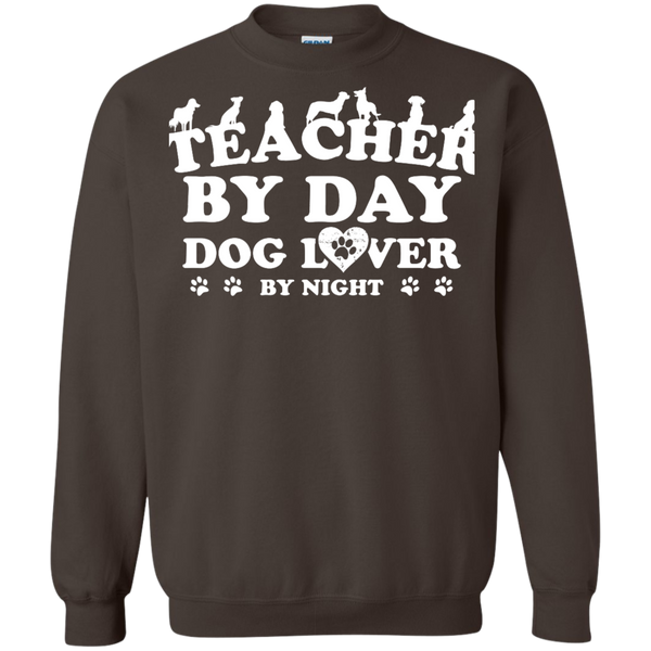 Printed Crewneck Pullover Sweatshirt  8 oz - TeachersLoungeShop - 5