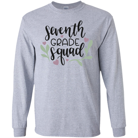 Seventh Grade Squad LS Tshirt